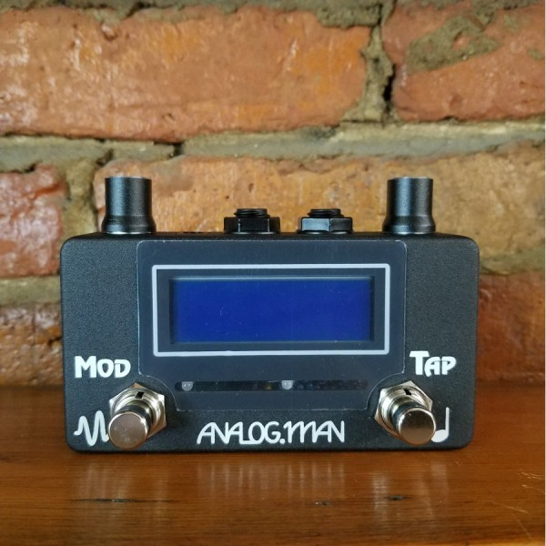 Analogman Amaze1 Analog Delay Tap Tempo and Modulation