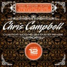CHRIS CAMPBELL CUSTOM BRONZE WOUND STEEL ACOUSTIC GUITAR STRINGS MEDIUM-LIGHT 12-54