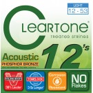 Cleartone Phosphor Bronze Acoustic 12-53