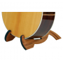 Cooperstand Pro-G African Sapele Hardwood Foldable Guitar Stand