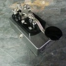 Coppersound Pedals Telegraph Stutter in Silver Vein Finish