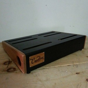 Creation Elevation 17x12.5 Pedalboard Sapele