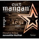 Curt Mangan 11-52 Phosphor Bronze Acoustic Strings