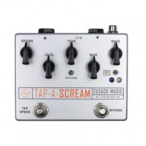 Cusack Tap-A-Scream - Tremolo Overdrive