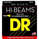 DR Strings Hi-Beam Bass 4-String 50-110