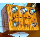 Lollygagger FX Canaglia with Flamed Maple in Habanero finish - Two Stage Overdrive