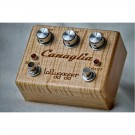 Lollygagger FX Canaglia with Flamed Maple in In The Buff finish - Two Stage Overdrive