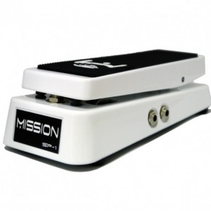 Mission EP-1 Broderick Signature Expression Pedal White w/ Spring Load